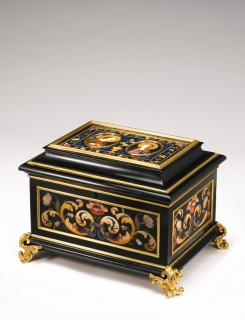 <span class=&#34;artist&#34;><strong>Botteghe Granducali</strong></span>, <span class=&#34;title&#34;><em>PIETRA DURA BOX</em>, First Quarter of the 18th Century</span>