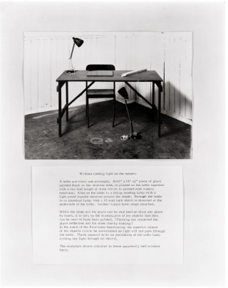 <span class=&#34;artist&#34;><strong>Alison Wilding</strong></span>, <span class=&#34;title&#34;><em>Without casting light on the subject</em>, 1975</span>
