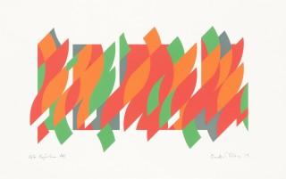 <span class=&#34;artist&#34;><strong>Bridget Riley</strong></span>, <span class=&#34;title&#34;><em>After Rajasthan</em>, 2013</span>