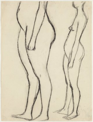 <span class=&#34;artist&#34;><strong>William Scott</strong></span>, <span class=&#34;title&#34;><em>Untitled - Two Girls</em>, 1956</span>