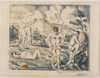 <p><em><span><span><span><span>Paul Cezanne, The Bathers, 1896-7</span></span></span></span></em></p>