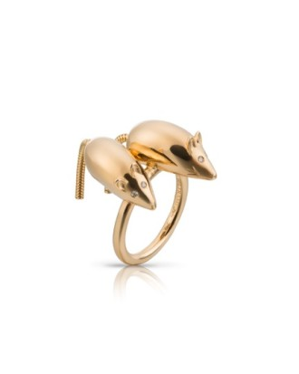 Louiz Elizabeth Mice Ring