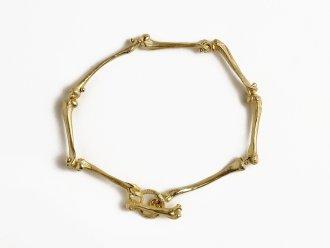 Bone Bracelet With Bone Clasp