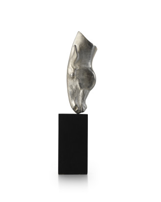 Silver Horse Head Sculpture & Pendant