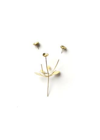 Christopher Thompson Royds, 'Against Nature: Daisy' Sculpture, Earrings & Pendant, 2019