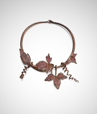 Vine Leaf Choker (Necklace)