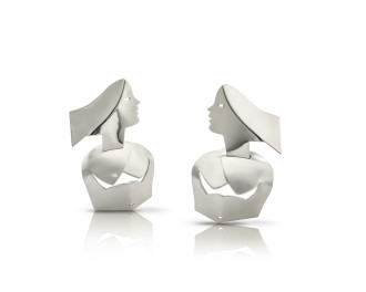 <span class=&#34;artist&#34;><strong>Allen Jones</strong></span>, <span class=&#34;title&#34;><em>Bodyline Earrings</em>, 2017</span>