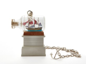 Ship in a Bottle Pendant