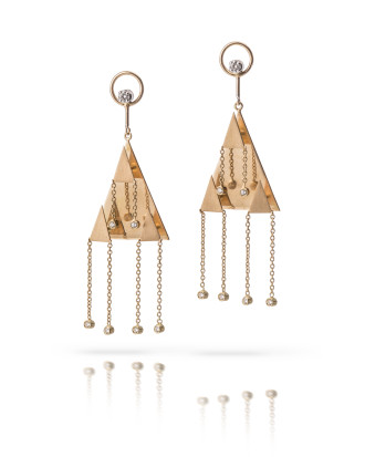 Orecchini Triangoli Earrings
