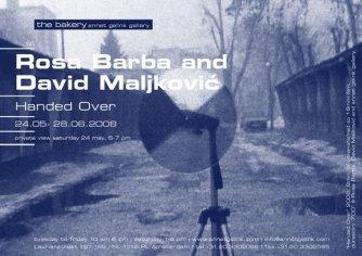 Rosa Barba and David Maljkovic