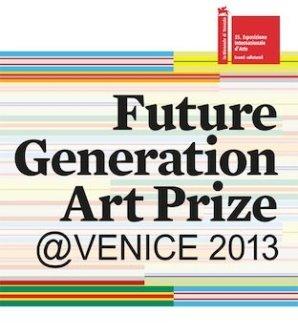 Meiro Koizumi nominated for the Future Generation Art Prize @ Venice 2013