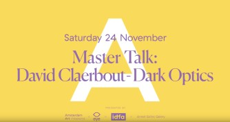 David Claerbout artist talk | EYE Filmmuseum Amsterdam