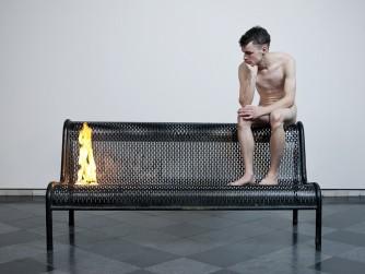 Roger Hiorns and Anya Gallaccio at Edinburgh Art Festival