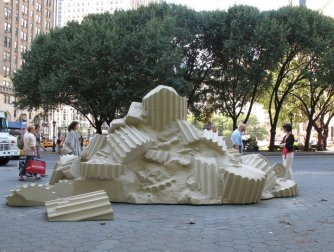 Ryan Gander public art installation in Central Park and at Guggenheim Museum New York