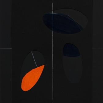 """Geografías corporales II """" Color negro"""", 2009"""