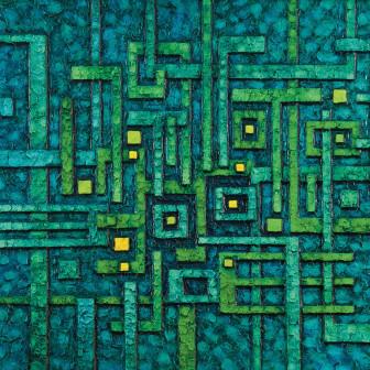 Tipograma Verde, 1970
