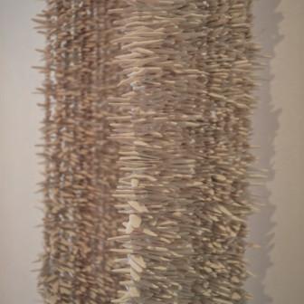 Chal de Pepitas de Terracotta (detail), 2010