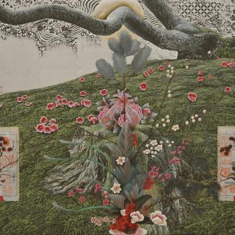 Utopia, Floral Raft in Winter, 2014