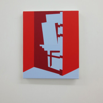 Red Hallway, 2014