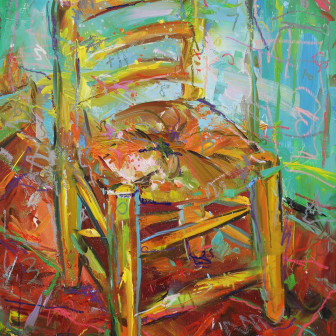 The Chair (After Van Gogh), 2017