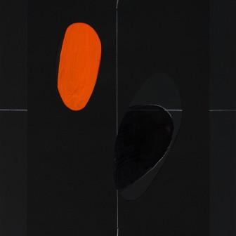 """Geografías corporales I """" Color negro"""", 2009"""