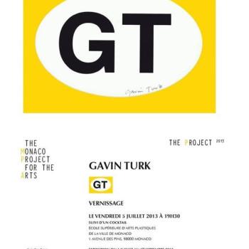 GAVIN TURK: GT