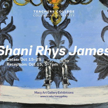 Shani Rhys James - Artist in Residence at Columbia University, New York