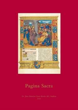 Pagina Sacra, Catalogue No. 10