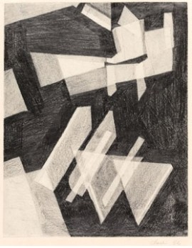 Lygia Clark, Untitled, 1952. Margaret Fisher Fund.