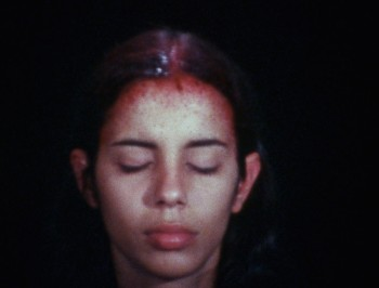 Ana Mendieta Sweating Blood, 1973.