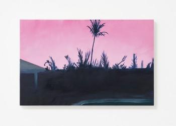 Alessandro Raho, Nassau, 2017 Oil on wood.