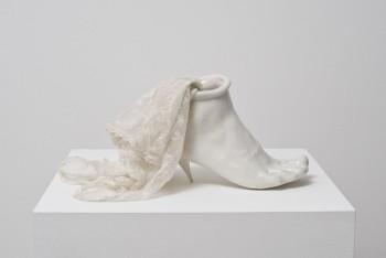 Birgit Jürgenssen, 'Porcelain Shoe', 1976.