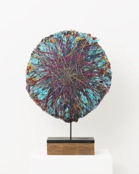 Sheila Hicks, 'Cobblestone II', 2017. Linen, cotton, synthetic fibres.