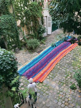 Solo Show: Sheila Hicks: Free Threads, Textile and its Pre-Columbian Roots, 1954-2017, Museo Amparo, Puebla, Mexico