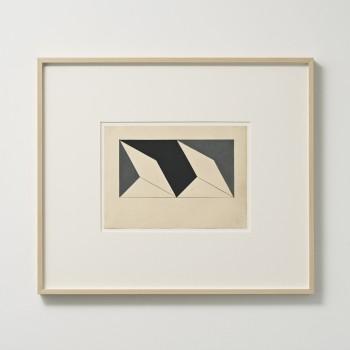 Lygia Clark, Planos em superficie modulada, 1957, gouche, graphite, cardboard © O Mundo de Lygia Clark-Associação Cultural, Rio de Janeiro.