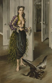 Dorothea Tanning, Birthday, 1942, Oil on canvas, 125th Anniversary Acquisition. Purchased with funds contributed by C.K. Williams, II, 1999
