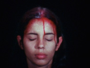 Ana Mendieta, Sweating Blood, 1973. Courtesy the Estate of Ana Mendieta Collection, Galerie Lelong, New York © The Estate of Ana Mendieta Collection, LLC