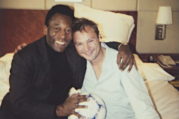 Juergen Teller, Pele and Me, London, 2003 © 2003 Juergen Teller