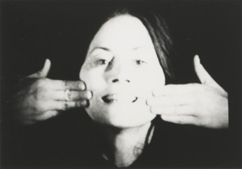 Gestures, Hannah Wilke, 1974. © Marsie, Emanuelle, Damon and Andrew Scharlatt, Hannah Wilke Collection & Archive, Los Angeles. Licensed by VAGA, New York, NY/ DACS, London.
