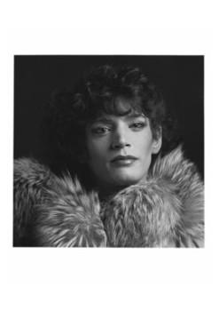 Robert Mapplethorpe, Self Portrait, 1980. Silver Gelatin Print. 50.8 x 40.6 cm, 20 x 16 ins. © Robert Mapplethorpe Foundation, New York. Used by Permission