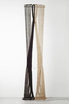 Lenore Tawney in 'Beyond Craft', Tate Modern, London