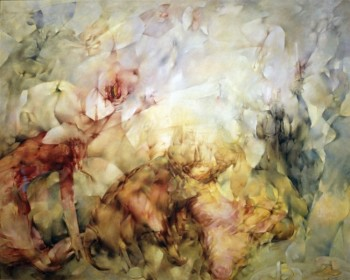 Dorothea Tanning in 'Dimensionism: Modern Art in the Age of Einstein', Berkeley Art Museum and Pacific Film Archive, Berkeley, California