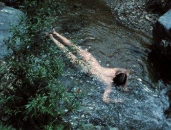 Ana Mendieta, Creek, 1974. Film, Super-8mm film transferred to highdefinition digital media, color, silent. Running time 3:11 minutes. © The Estate of Ana Mendieta Collection, LLC