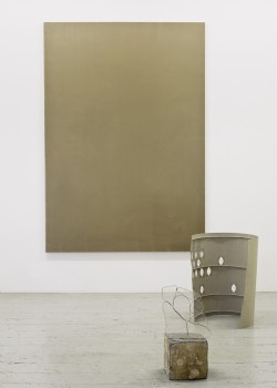 group show: Ian Kiaer in 'Teaching Painting: Fully Awake', Edinburgh College of Art, Edinburgh