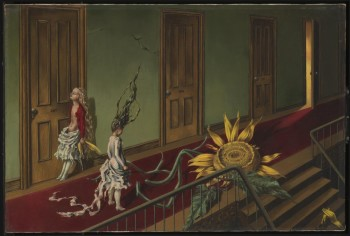 Dorothea Tanning, Eine Kleine Nachtmusik, 1943 © Artists Rights Society, New York, and ADAGP, Paris⁣ ⁣
