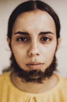 Ana Mendieta, 'Untitled (Facial Hair Transplants)', 1972 / 1997. © The Estate of Ana Mendieta Collection, LLC.