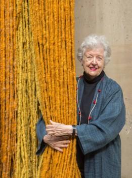 Sheila Hicks: 'Thread, Trees, River', MAK Vienna, Austria