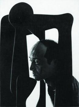 Dan Fischer, 'Isamu Noguchi', 2012, graphite on paper, 52.1 x 41.9 cm (20 1/2 x 16 1/2 in). Courtesy: the artist, Derek Eller Gallery, New York, and Alison Jacques Gallery, London © Dan Fischer