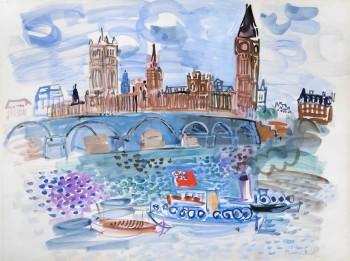 Winter Exhibition: Chagall, Dufy, Le Sidaner, Martin, Moore, Signac