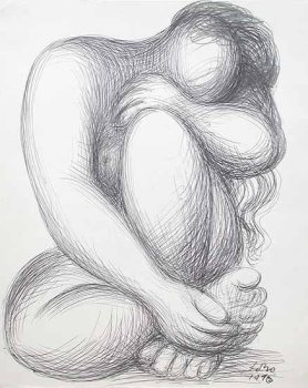 Baltasar Lobo & Henry Moore - Works on Paper
